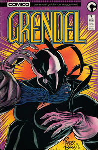 Cover Thumbnail for Grendel (Comico, 1986 series) #3 [Direct]