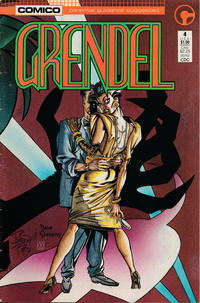 Cover Thumbnail for Grendel (Comico, 1986 series) #4 [Direct]