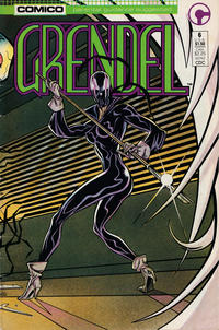 Cover Thumbnail for Grendel (Comico, 1986 series) #6 [Direct]