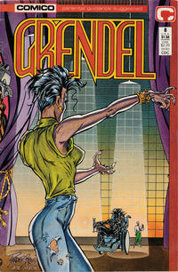 Cover Thumbnail for Grendel (Comico, 1986 series) #8 [Direct]