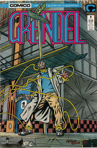 Cover Thumbnail for Grendel (Comico, 1986 series) #9 [Direct]