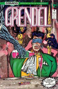 Cover Thumbnail for Grendel (Comico, 1986 series) #10 [Direct]