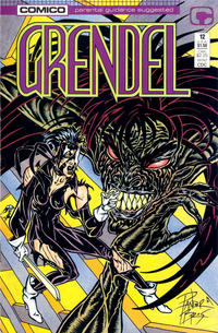 Cover Thumbnail for Grendel (Comico, 1986 series) #12 [Direct Edition]