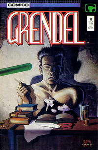 Cover Thumbnail for Grendel (Comico, 1986 series) #13