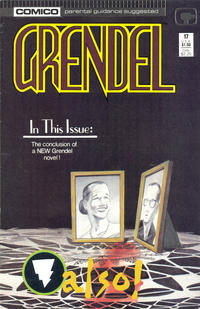 Cover Thumbnail for Grendel (Comico, 1986 series) #17