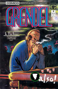 Cover Thumbnail for Grendel (Comico, 1986 series) #18