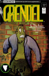Cover Thumbnail for Grendel (Comico, 1986 series) #19