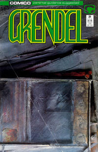 Cover Thumbnail for Grendel (Comico, 1986 series) #21