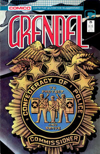Cover Thumbnail for Grendel (Comico, 1986 series) #25