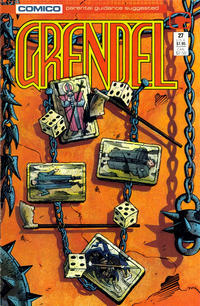 Cover Thumbnail for Grendel (Comico, 1986 series) #27