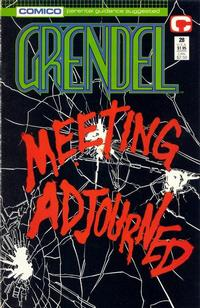 Cover Thumbnail for Grendel (Comico, 1986 series) #28