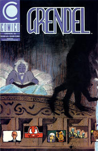 Cover Thumbnail for Grendel (Comico, 1986 series) #36