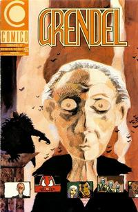 Cover Thumbnail for Grendel (Comico, 1986 series) #37