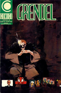 Cover Thumbnail for Grendel (Comico, 1986 series) #38