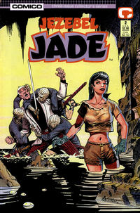 Cover Thumbnail for Jezebel Jade (Comico, 1988 series) #2