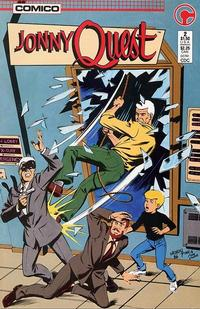 Cover Thumbnail for Jonny Quest (Comico, 1986 series) #2 [Direct Edition]