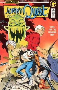Cover Thumbnail for Jonny Quest (Comico, 1986 series) #3 [Direct Edition]