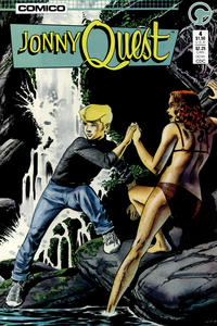 Cover Thumbnail for Jonny Quest (Comico, 1986 series) #4