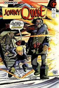 Cover Thumbnail for Jonny Quest (Comico, 1986 series) #6