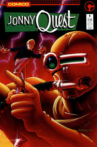 Cover Thumbnail for Jonny Quest (Comico, 1986 series) #8 [Direct]