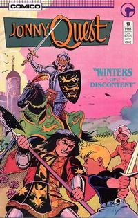Cover Thumbnail for Jonny Quest (Comico, 1986 series) #10
