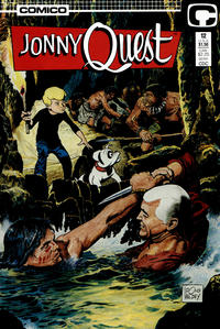 Cover Thumbnail for Jonny Quest (Comico, 1986 series) #12