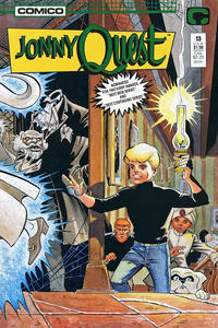 Cover Thumbnail for Jonny Quest (Comico, 1986 series) #13