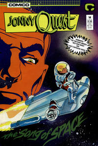 Cover Thumbnail for Jonny Quest (Comico, 1986 series) #14