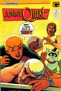 Cover Thumbnail for Jonny Quest (Comico, 1986 series) #15