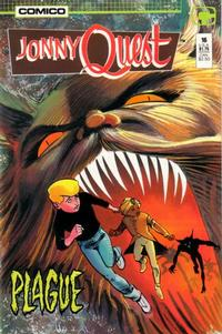 Cover Thumbnail for Jonny Quest (Comico, 1986 series) #16