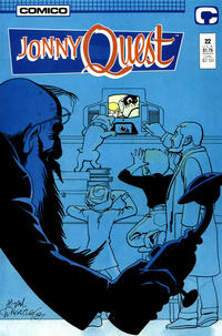 Cover Thumbnail for Jonny Quest (Comico, 1986 series) #22