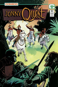 Cover Thumbnail for Jonny Quest (Comico, 1986 series) #23