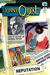 Cover Thumbnail for Jonny Quest (Comico, 1986 series) #26
