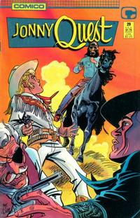 Cover Thumbnail for Jonny Quest (Comico, 1986 series) #29