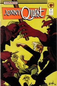 Cover Thumbnail for Jonny Quest (Comico, 1986 series) #31