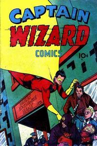 Cover Thumbnail for Captain Wizard Comics (Croydon Publishing Co., 1946 series) #1