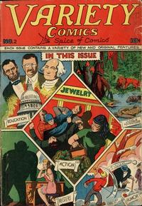 Cover Thumbnail for Variety Comics (Croydon Publishing Co., 1944 series) #2