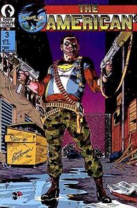 Cover Thumbnail for The American (Dark Horse, 1987 series) #3