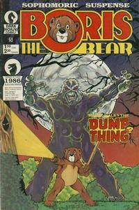 Cover Thumbnail for Boris the Bear (Dark Horse, 1986 series) #5
