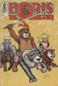 Cover Thumbnail for Boris the Bear (Dark Horse, 1986 series) #7