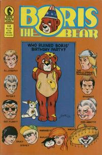Cover Thumbnail for Boris the Bear (Dark Horse, 1986 series) #12