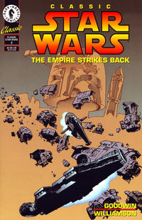 Cover Thumbnail for Classic Star Wars: The Empire Strikes Back (Dark Horse, 1994 series) #2