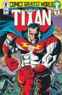 Cover Thumbnail for Comics' Greatest World: Titan (Dark Horse, 1993 series) #[Week 3]