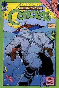 Cover Thumbnail for Concrete (Dark Horse, 1987 series) #2
