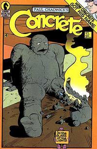 Cover Thumbnail for Concrete (Dark Horse, 1987 series) #4