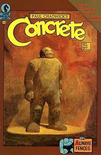 Cover Thumbnail for Concrete (Dark Horse, 1987 series) #10