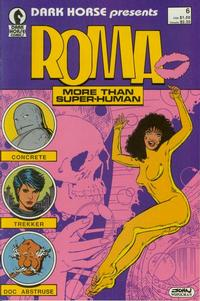 Cover Thumbnail for Dark Horse Presents (Dark Horse, 1986 series) #6