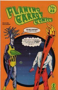 Cover Thumbnail for Flaming Carrot Comics (Dark Horse, 1988 series) #22
