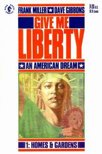 Cover Thumbnail for Give Me Liberty (Dark Horse, 1990 series) #1