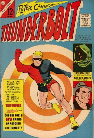 Cover for Thunderbolt (Charlton, 1966 series) #1